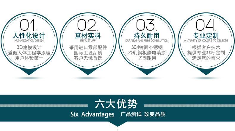 广品设备六大优势